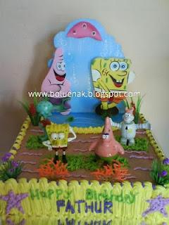 Toko Kue Bolu Enak: Tart spongebob