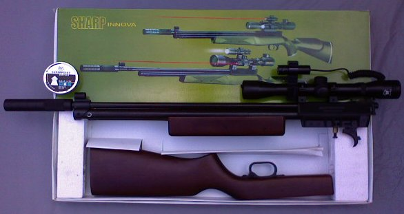 Senapan Angin Air Rifle Sharp Innova Special Edition Cal