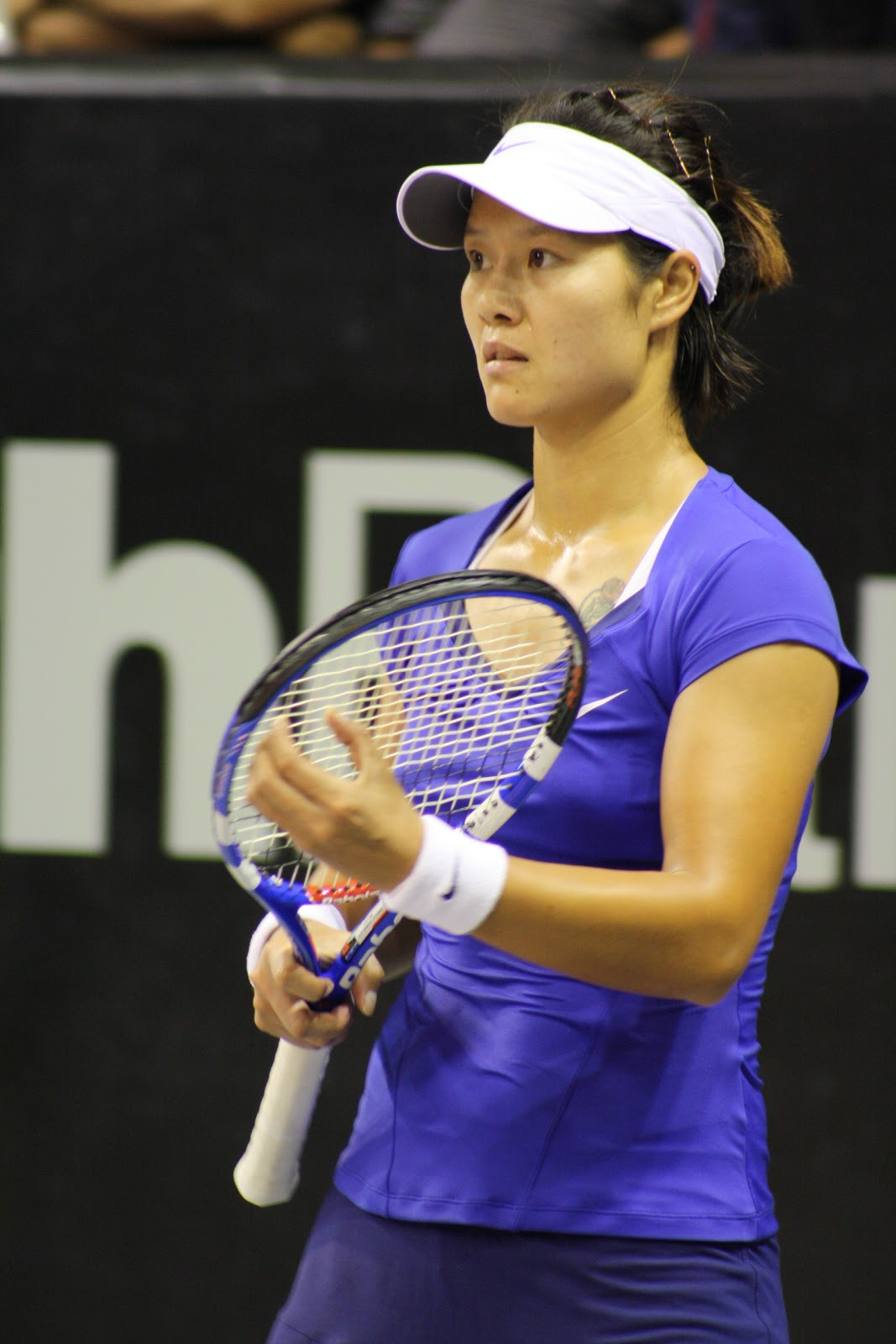 Li Na (seen here in Bali, November 2010) made a historical run in 2011 ...