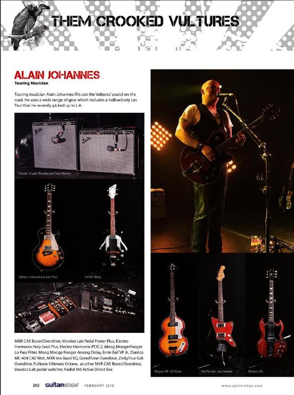 Alain Johannes Guitar Rig