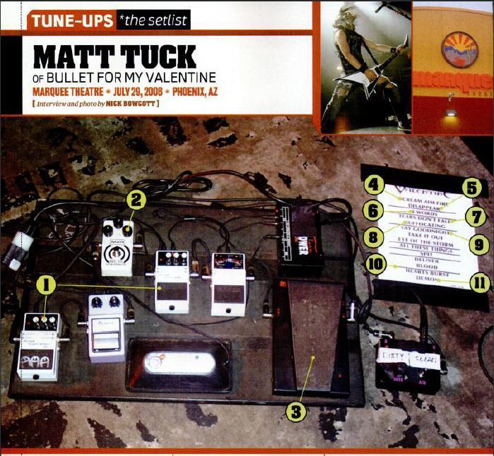 Matt Tuck Gear