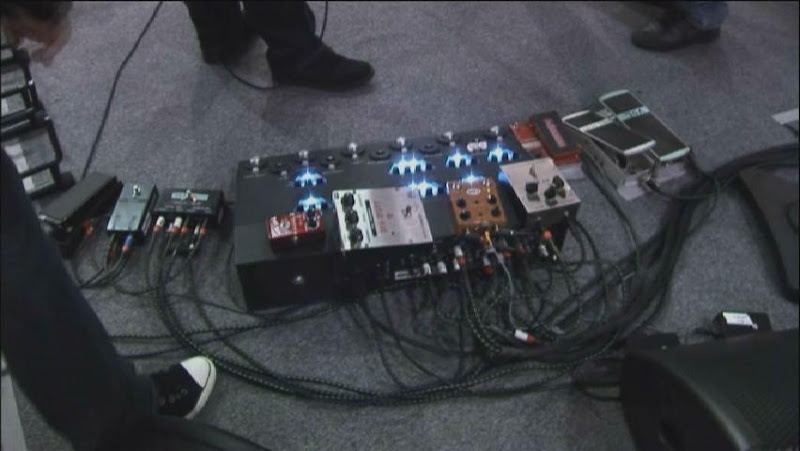 Gilmour Pedalboard