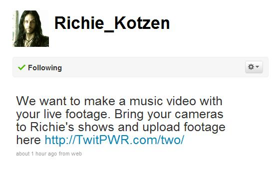 Richie Kotzen Twitter