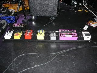 Paul Gilbert 2009 Pedalboard