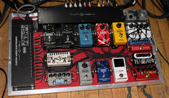 Stephen Carpenter Pedalboard