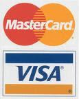 Kami menerima sebarang master/visa card dan juga meps card