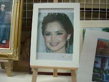 frame A4 putih 1''
