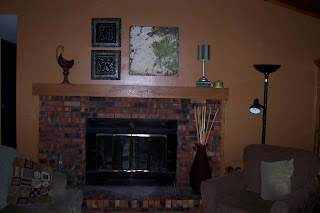Living room featuring new wall paint color.