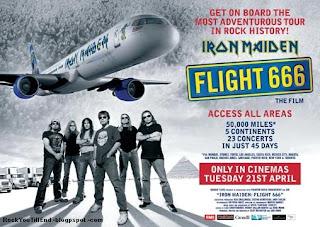 Flight 666 movie tour