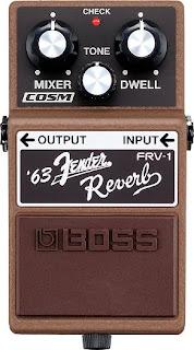 FRV-1 Fender Reverb pedal