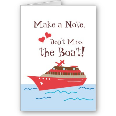 It is crucial with a wedding on a boat to indicate on your invitations