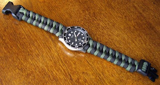 DIY - Two Toned Woven Paracord Watchband