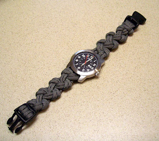 DIY - Another Paracord Watchband