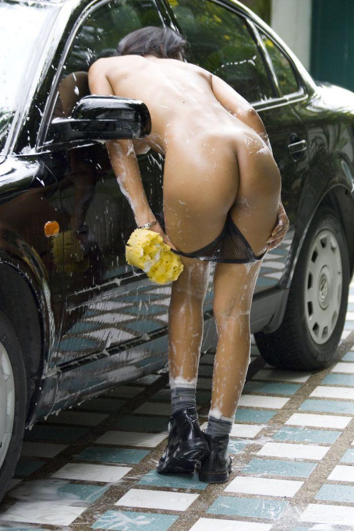 порно фото мойка машин девушки