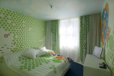 design kamar tidur yang unik