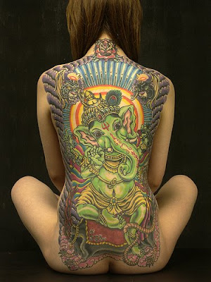 Tattoos are bagaian of art, modern dizaman Currently, the trend in body