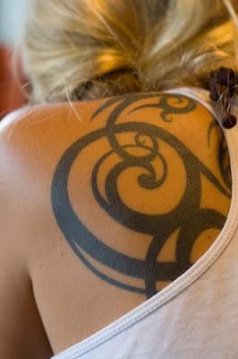 Foto Tatto Pada Tubuh Cewek