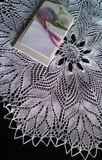 serweta wykonana przez Lacrimę