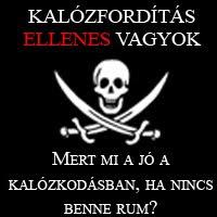 Nincs rum, nincs kalózkodás