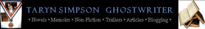 Taryn Simpson - A Ghostwriter&#39;s Presskit