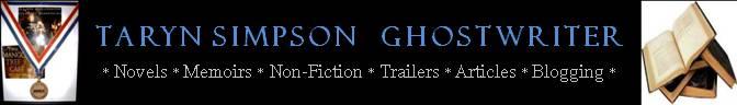 Taryn Simpson - A Ghostwriter's Presskit