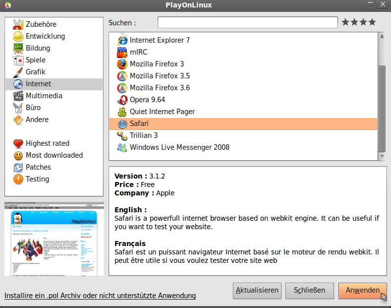 linux zum spielen
