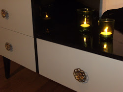 Glossy Black Dresser