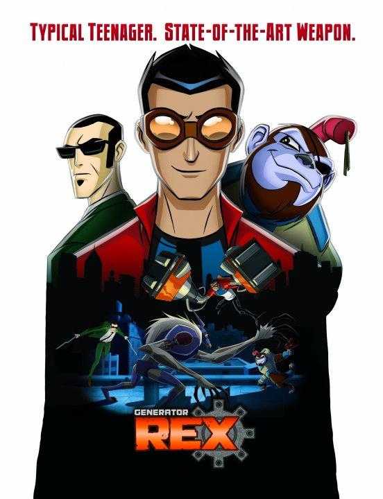 La serie generador rex