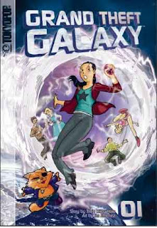 Grand Theft Galaxy Manga