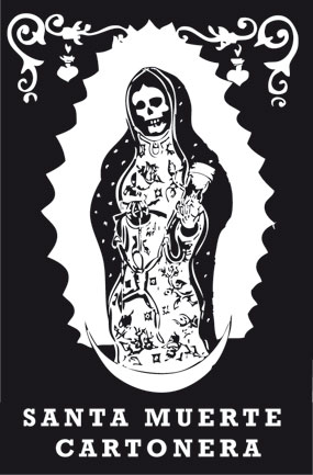 Santa Muerte Cartonera