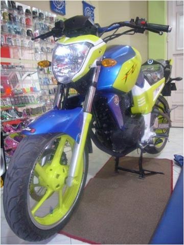 Foto-foto Modifikasi Motor Yamaha Byson (Simple Tapi Keren)