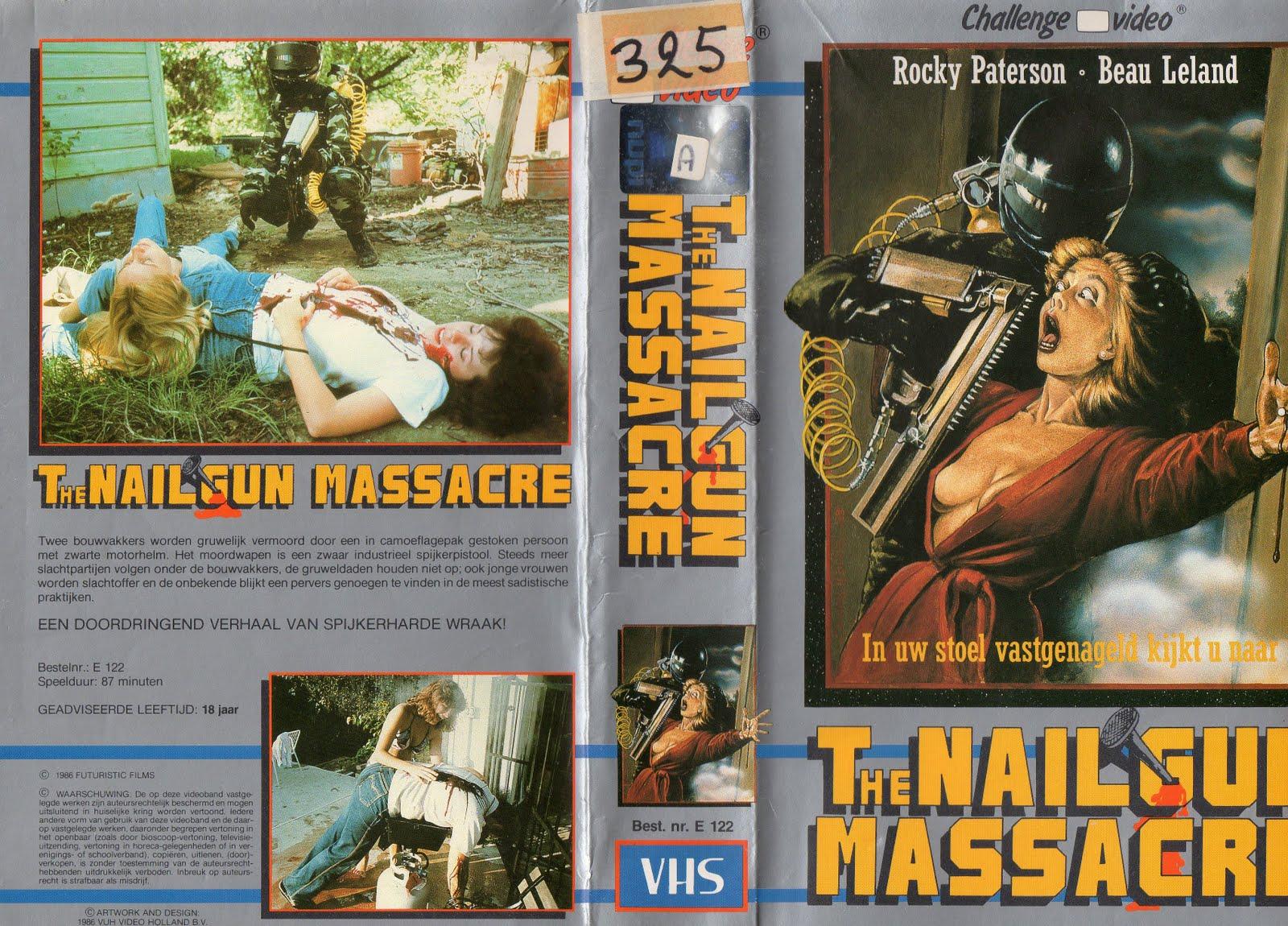 Cult VHS: The nailgun massacre