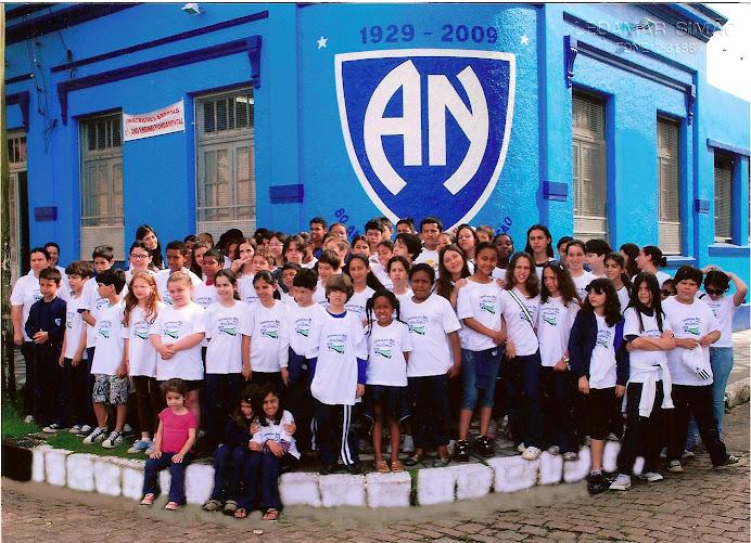 ALUNOS DA ESCOLA AGNELLA DO NASCIMENTO 2009