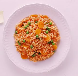 arroz rojo a la mexicana