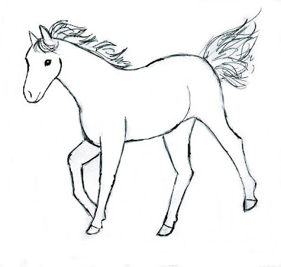 horses drawing pictures and ponies images posters collection