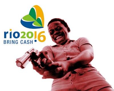 Dadinho arma Rio de Janeiro Olimpiadas