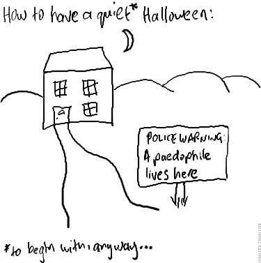 How to have a quiet Halloween