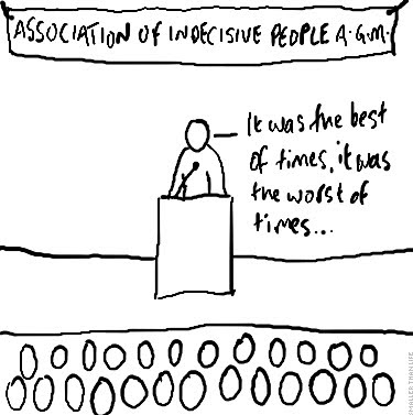 Association of Indecisive People AGM