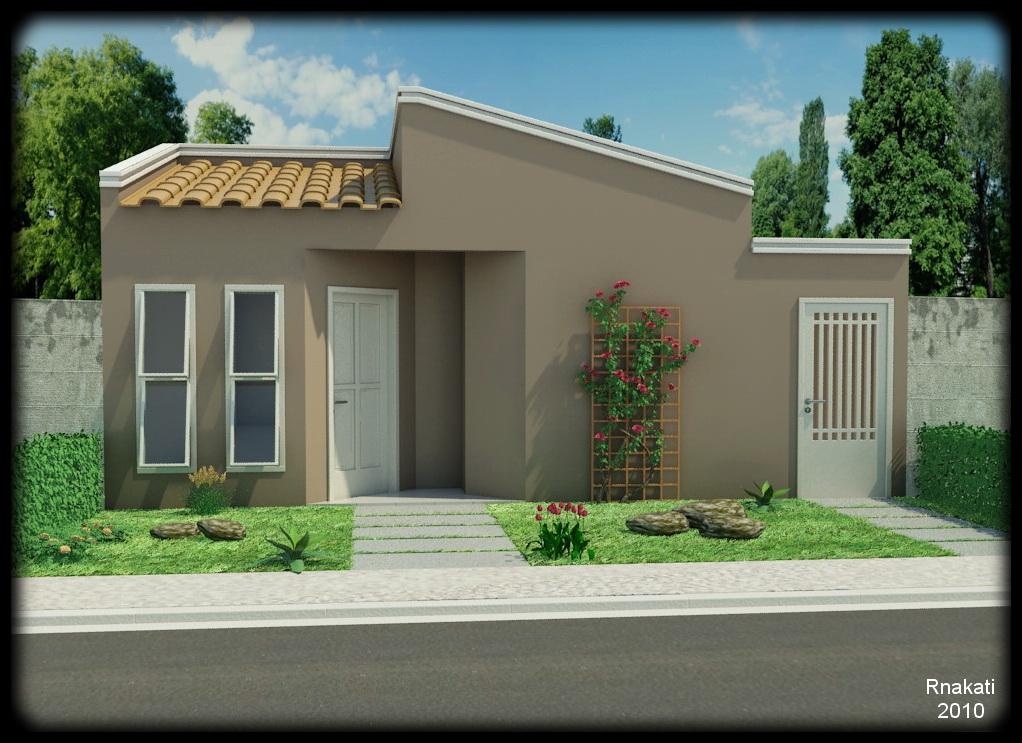 Rnakati maquetes externas for Casa popular