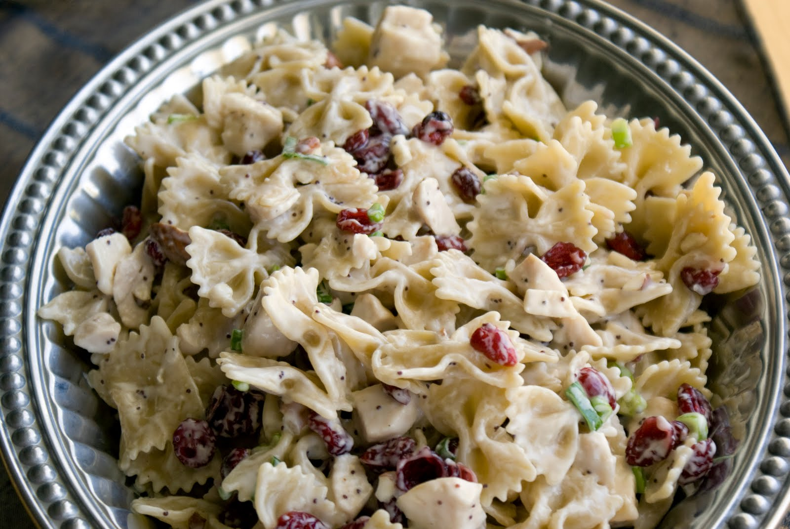 Chicken Poppyseed Pasta Salad