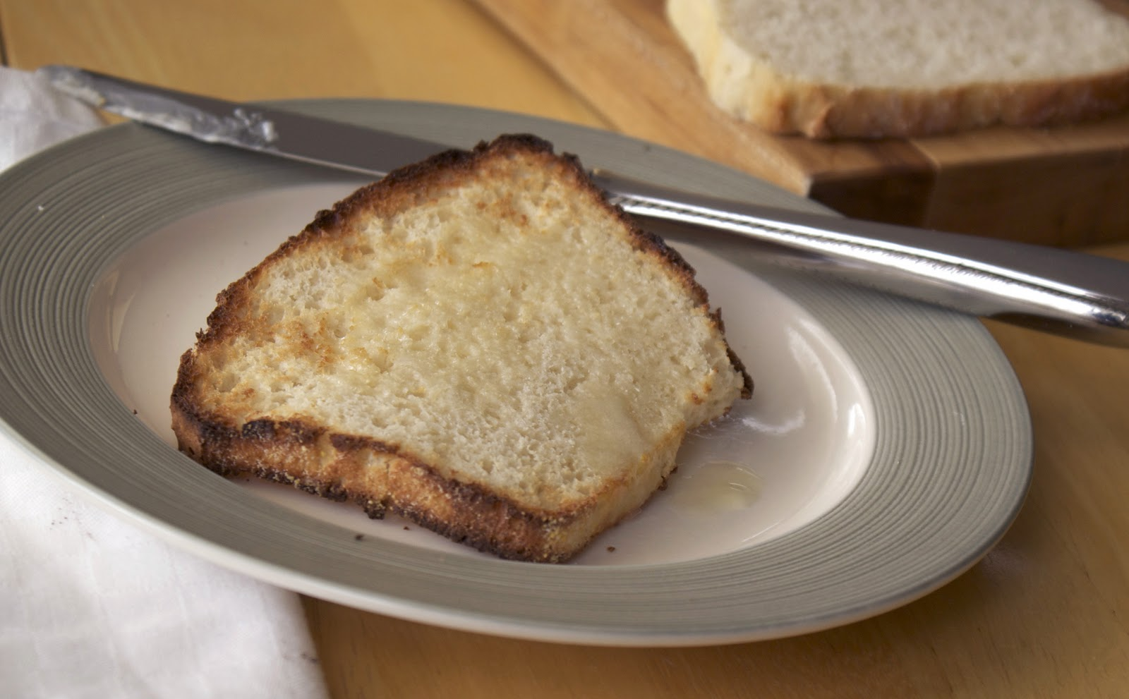 English Muffin Bread ~ Heat Oven to 350