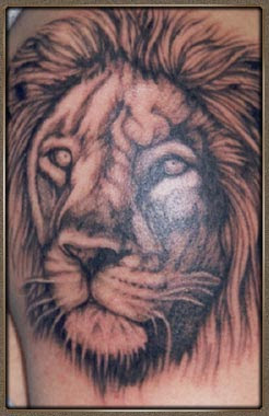Labels: Lion Tattoos