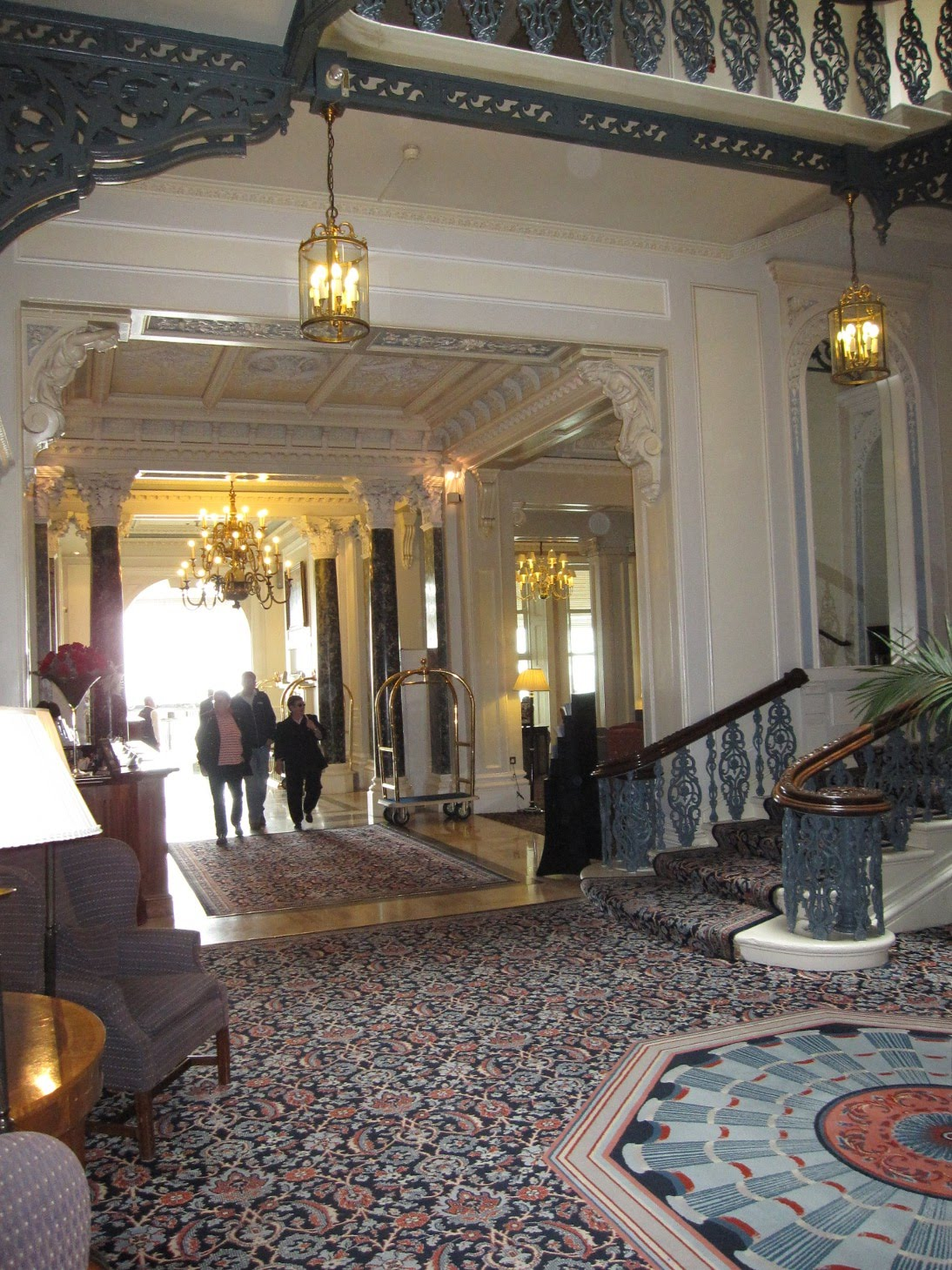 Hotel Foyer : Adventures in brighton the grand hotel