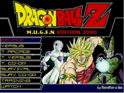 DragonBall Z  M.U.G.E.N  2010 Edition