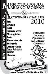 Talleres Culturales Ciclo 2010