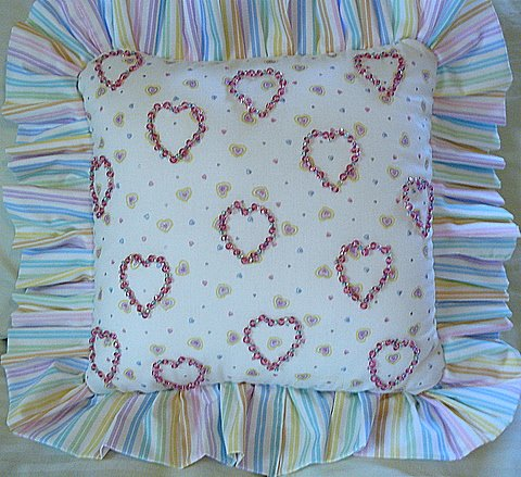 Girl's Pillow (Front)