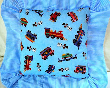 Boy's Pillow (Front) (SOLD)