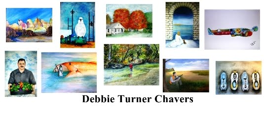 Contemporary Art and Journaled Thoughts of Debbie Turner Chavers