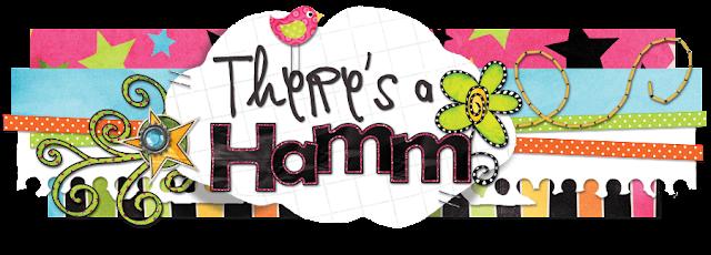Theres a Hamm Blog Design