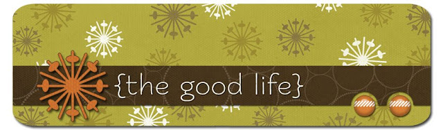 The Good Life Blog Design